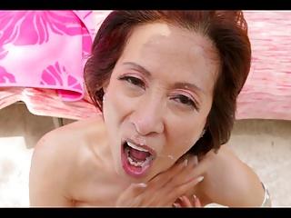 Cock Asian Granny Porn - Asian Granny Fuck Two Boys.